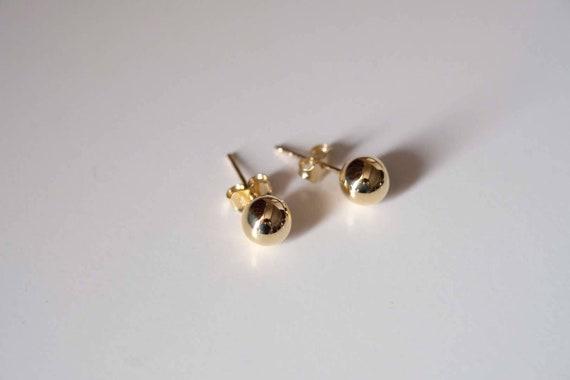 9ct WHITE GOLD EARRING EAR POST 3mm DIAMETER BEAD /& RING STUD