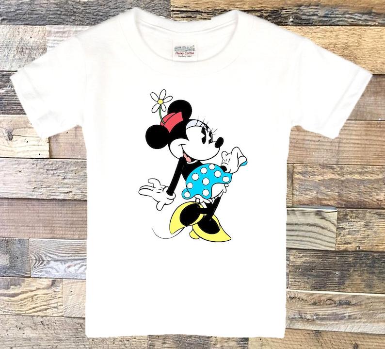 c593f30043ea Vintage Minnie Mouse Ringer Tee. Vintage Minnie Mouse T Shirt.   Etsy
