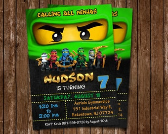 Ninjago invitations etsy ninjago invitation ninjago invitations ninjago birthday ninjago party ninjago card ninjago printable ninjago birthday party ninjago stopboris Images