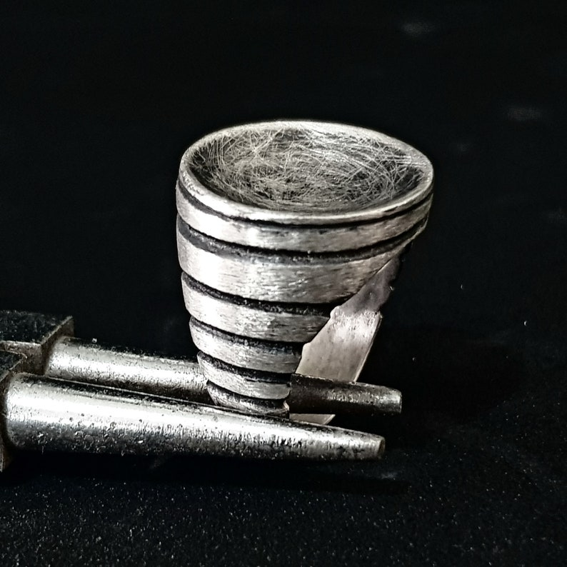 Silver women ring Modern women ring Rustic ring Silver circle ring Circle silver ring Statement round silver ring Unique women ring