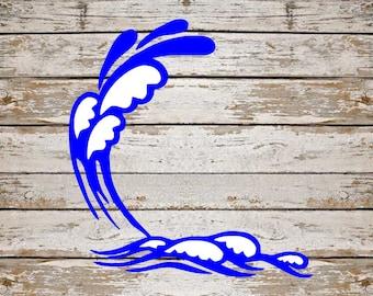 Beach Waves SVG Bundle, Summer SVG Bundle, Beach cut file, clipart, svg files for silhouette, files for cricut, svg, dxf, eps, png, scal