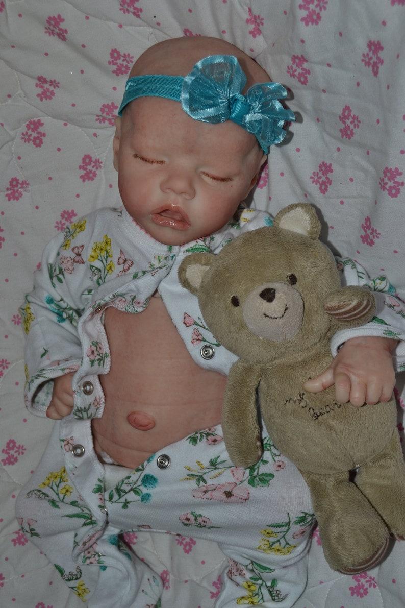 "Custom Order Reborn Twin B 17/"" doll Bonnie Brown~ Reborns by Jill"