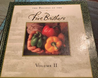 Recipes of the Five Brothers 1998 hardcover