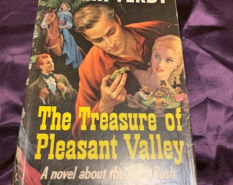 The Treasure of Pleasant Valley by Frank Yerby hardcover 1955 book club edition