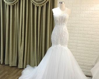 Mermaid Wedding Dress Etsy