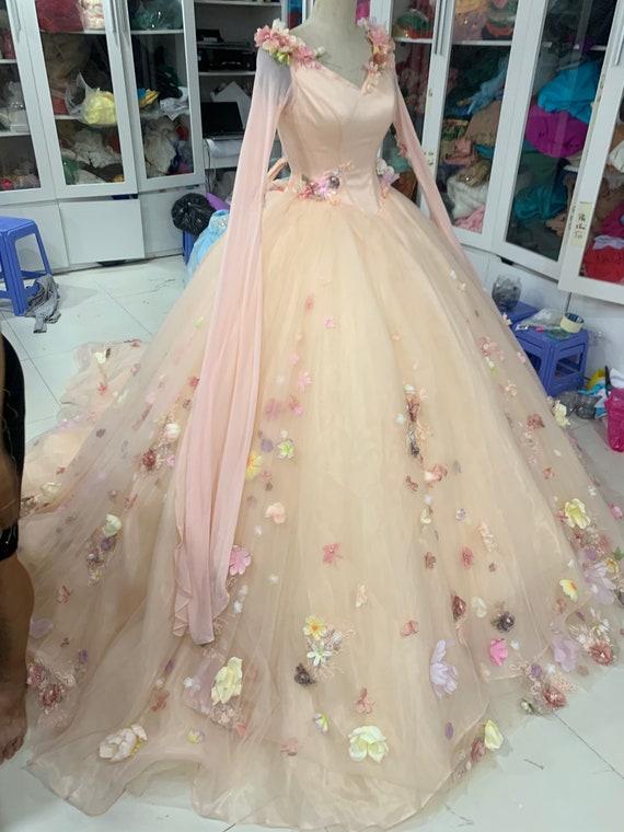 Aurora Inspired Gown Sleeping Beauty Costume Aurora Etsy,Boat Neck Sheath Wedding Dress