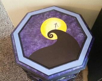 Jacks Lament custom Gothic fantasy cabinet