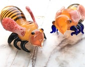 Honey Bee Glass smoking Pipes and pipes for smoking