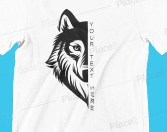 Custom Wolf Pack Team Shirt