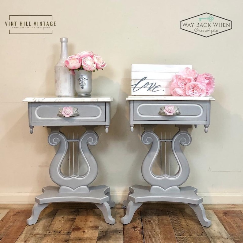 Sold Italian Marble Top Accent Tables Etsy