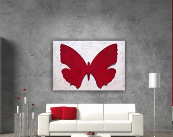 Red Royal Butterfly.