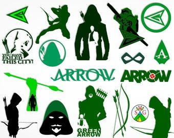 green arrow etsy