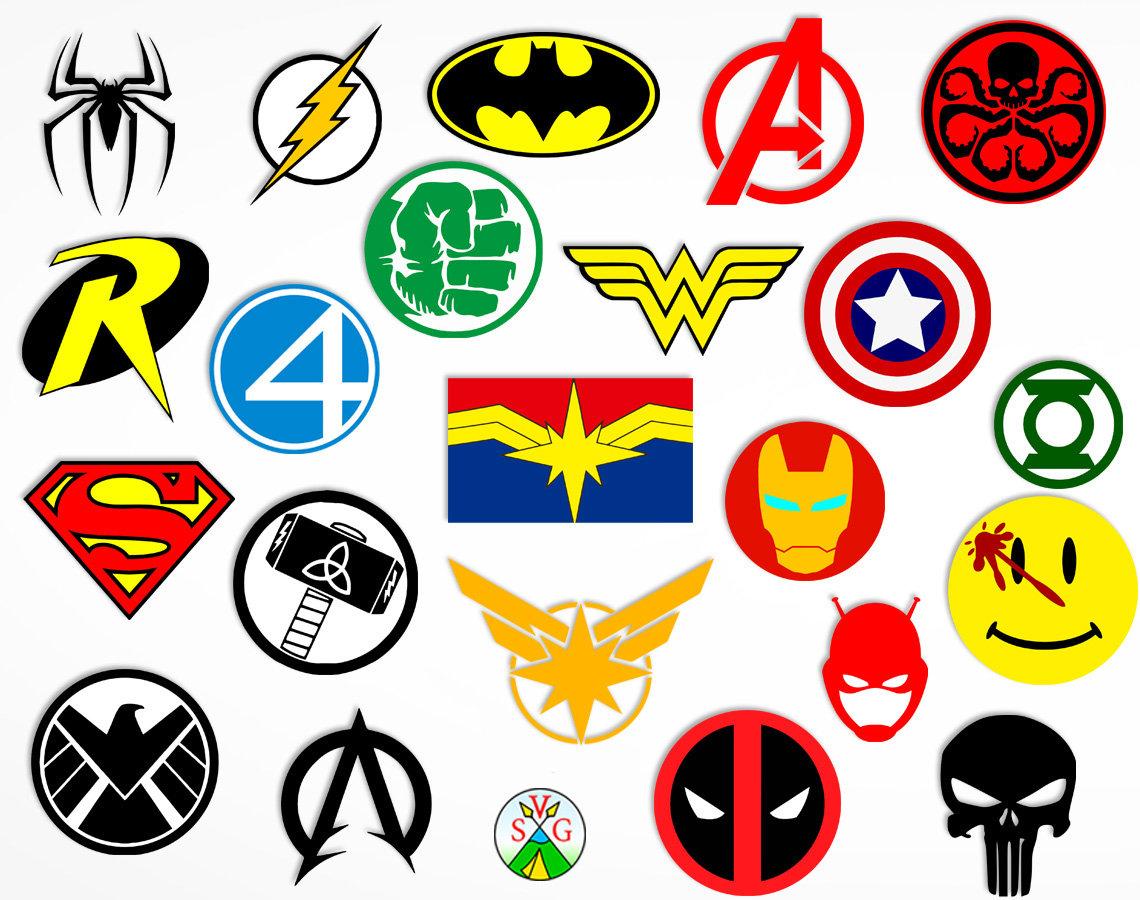 SALE Superhero logo svg cut files joker cricut files - Etsy