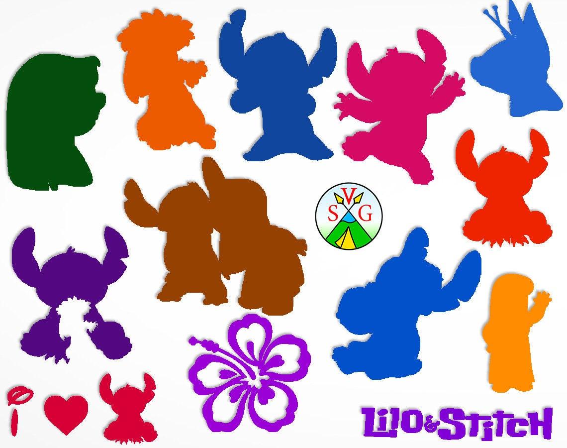 Sale Lilo And Stitch Svg Cut Files Lilo Cricut Files Etsy