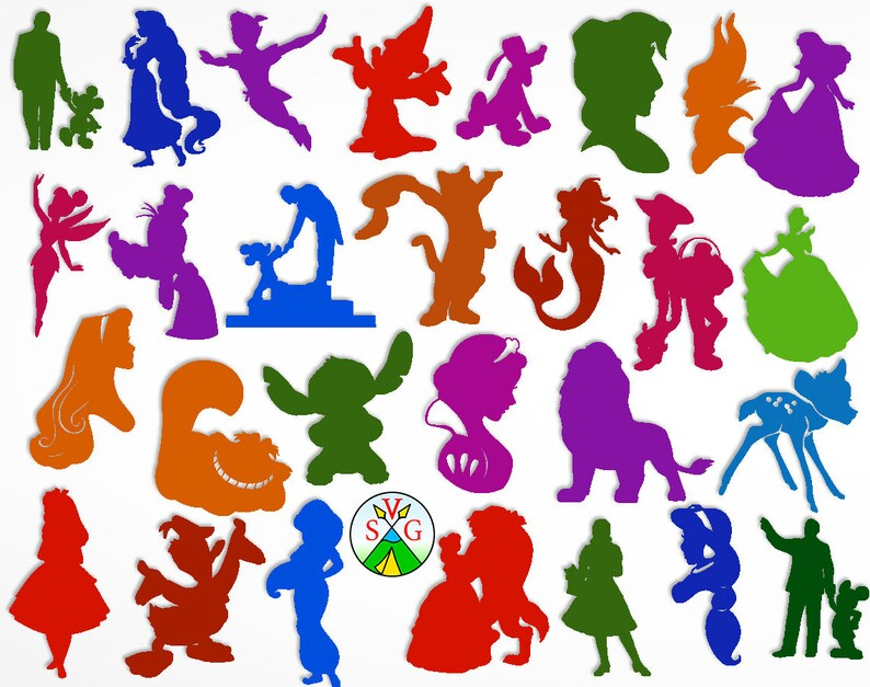 Sale Disney Heroes Svg Cut Files Mickey Cricut Files Etsy