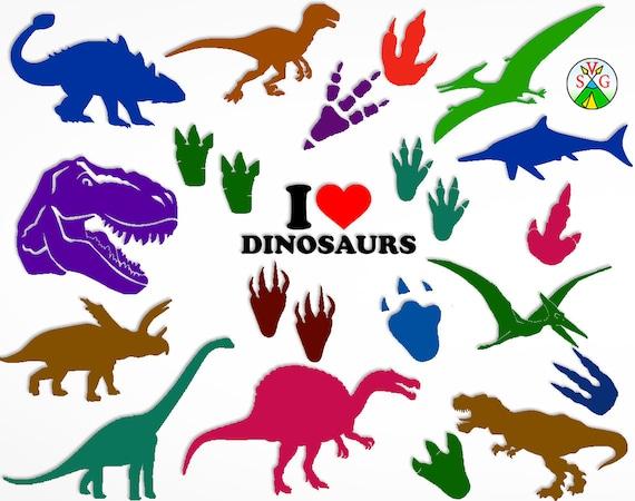 Sale Dinosaur Svg Cut Files Dinosaurs Svg Bundle Dino Etsy