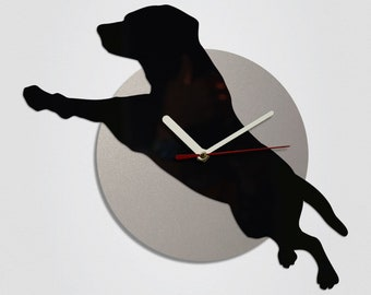 Flying Dog Handmade Modern Wall Clock