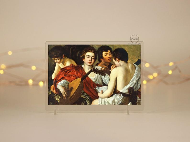 Classic Artwork Gift Artist Acrylic Photo Office Home Acrylic Canvas Prints The Musicians Fine Art Vintage Decor