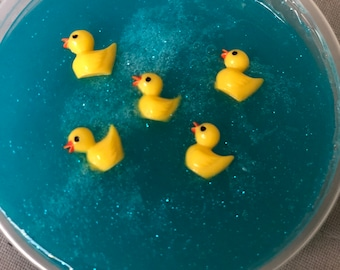 Rubber ducky charms