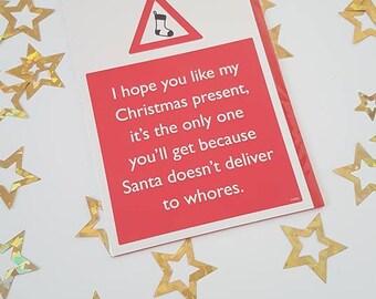 18+ Christmas Present... Christmas Card