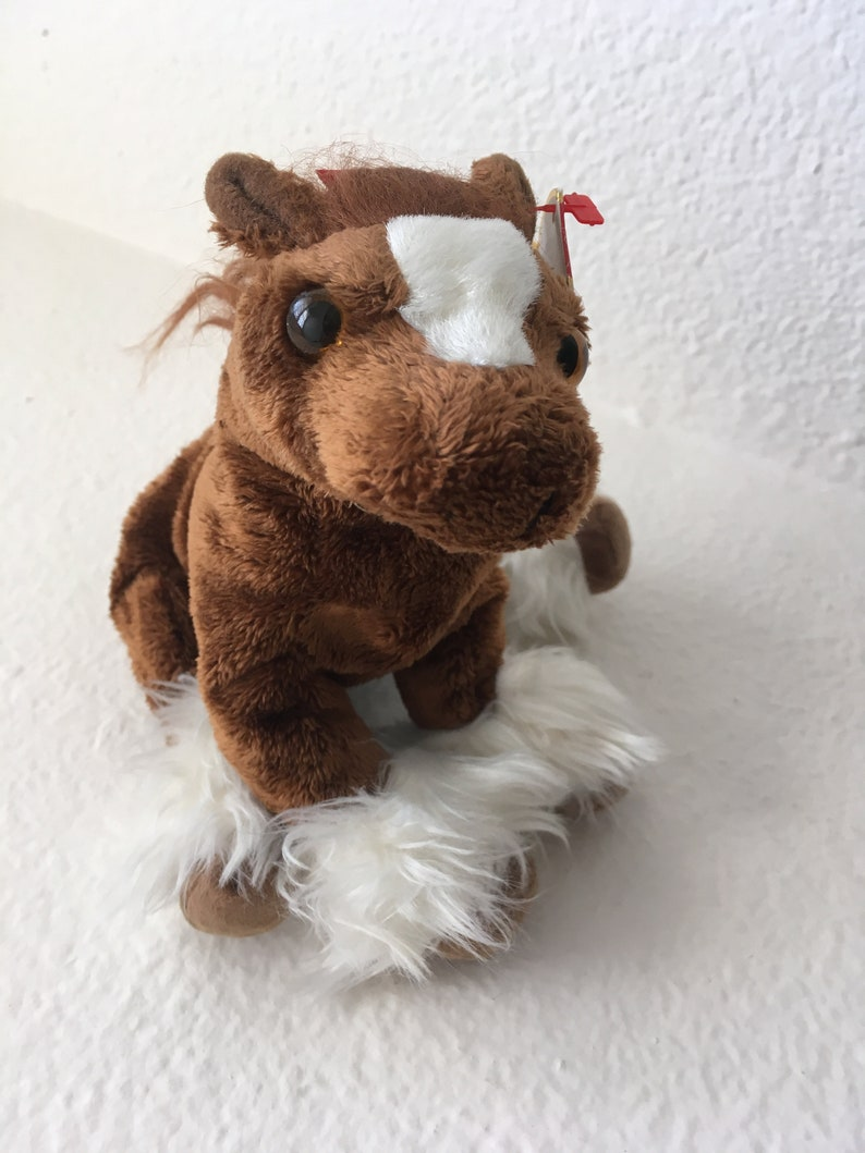 f1e8f9da513 Hoofer Ty Beanie Babies Collection The Clydesdale Beanie