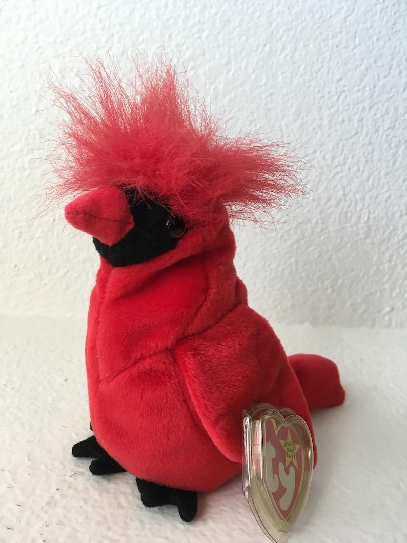 53d61bb74bb Mac Ty Beanie Babies Collection Mac Red Cardinal Beanie