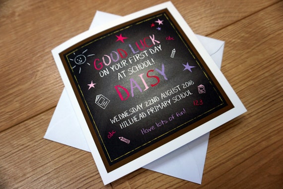 Personalised First 1st Christmas as a Family of Three Card Any Name Any message
