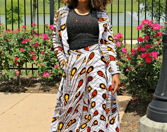 65fadfea6576a Morola Long Top and pant set ankara dress african clothes ankara skirt ankara  african blouses ankara pants african dresses ankara plus sizes