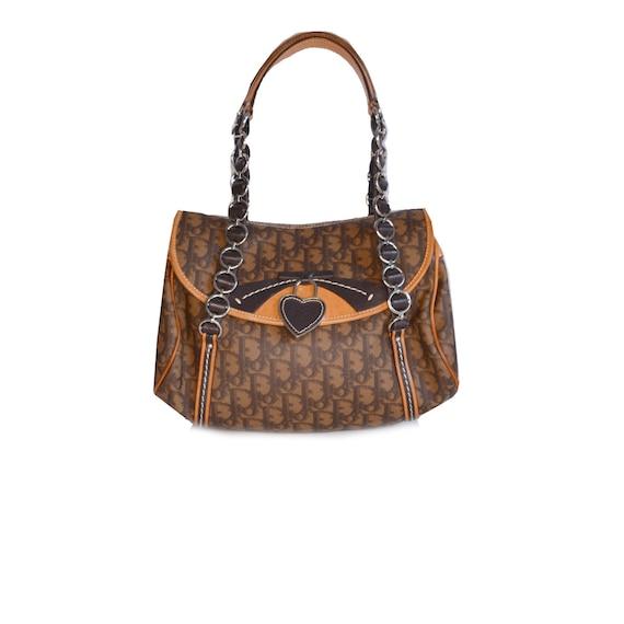 Dior bag - Authentic Dior Monogram Shoulder Bag in