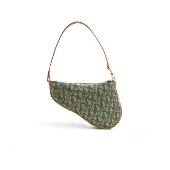 Dior Saddle Bag Authentic Dior Trotter Monogram Mi