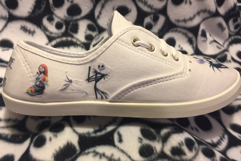 The Nightmare Before Christmas canvas shoes