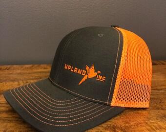 d6324205ec1 Charcoal Blaze Orange Horizontal Logo Blaze Orange