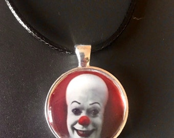 Original It Pennywise Necklace on Faux Leather Cord