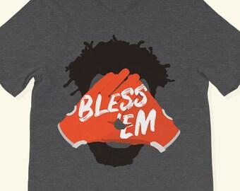 da75cb8f2 Cleveland Browns Jarvis Landry Football Bless  Em Bless m Tshirt