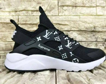 low priced e2f94 02e21 ... sale nike air max huarache custome painted supreme womens runner  uniisex shoes cbfc8 a03ab