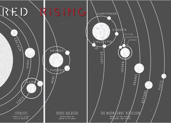 Map of Red Rising