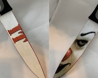 Pennywise Tim Curry It 1990 Stephen King Knife