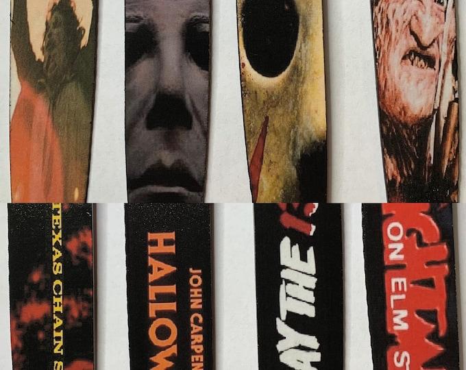 Horror Icons Collection Freddy Jason Myers Leatherface 4 Piece Kitchen knife set