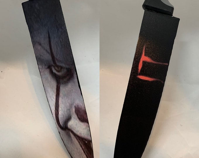 Pennywise Bill Skarsgard It 2018 Stephen King Knife
