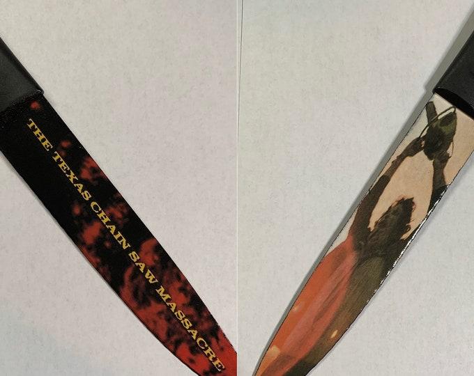 Texas Chain Saw Massacre 1974 Leatherface Horror Kitchen Knife