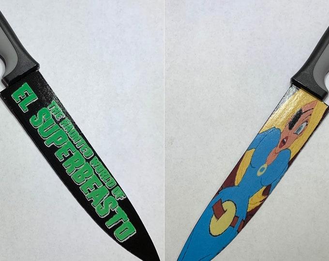 El Superbeasto Rob Zombie Haunted World Suzi X Kitchen Knife