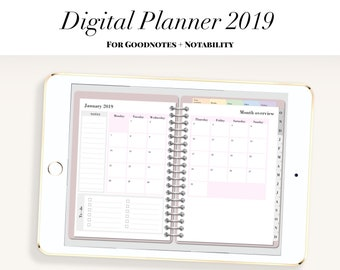 digital travel planner templates for goodnotes notability on etsy