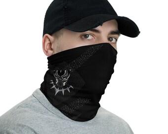 Neck Gaiter - Black Panther | Face Shield