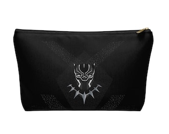 Accessory Pouch w/ T-bottom - Black Panther