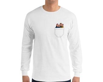 Long Sleeve T-Shirt - Pocket Tide Fam
