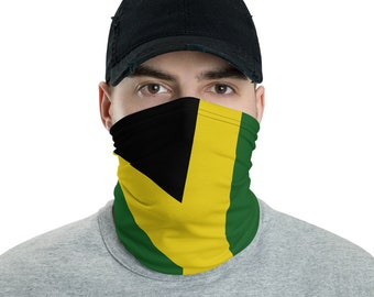 Neck Gaiter - Jamaican Flag | Face Shield