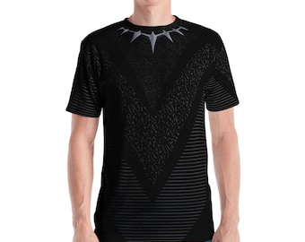 Men's All-Over Print T-shirt - Black Panther