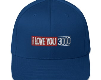 Structured Twill Cap - I Love You 3000
