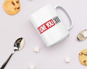 Mug - I Love You 3000