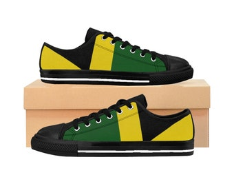 Men's Sneakers - Jamaican Flag